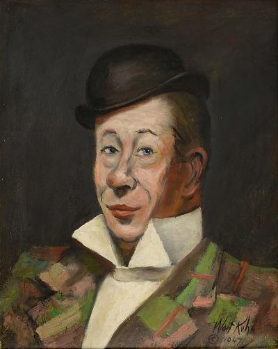 Walt Kuhn Portrait of Bert Lahr