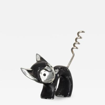 Walter Bosse Adorable CAT Corkscrew Bottle Wine Opener Walter Bosse Modern Era