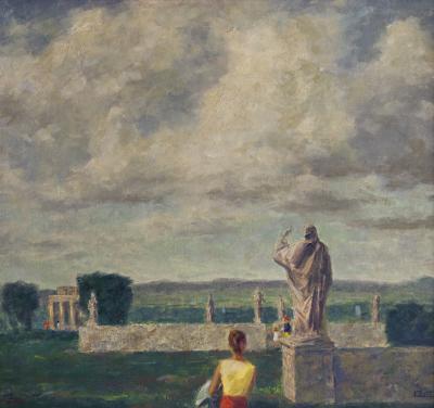Walter Charles Klett Environs of Rome