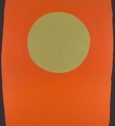 Walter Darby Bannard Orange Blacksides
