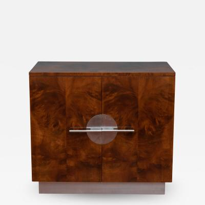 Walter Dorwin Teague Art Deco Streamline Cabinet by Walter Dorwin Teague