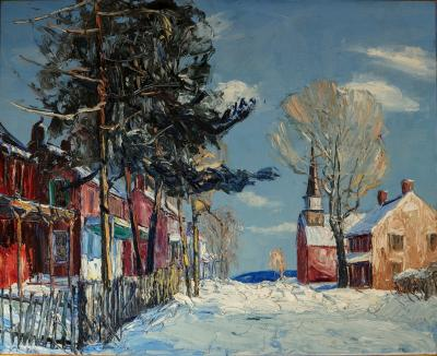 Walter Emerson Baum Fresh Snow