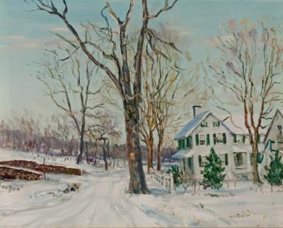 Walter Emerson Baum Fresh Snowfall