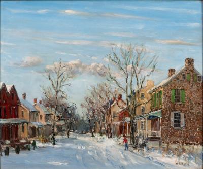 Walter Emerson Baum Pennsylvania Dutch Village