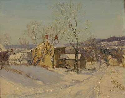 Walter Emerson Baum Road To Valley