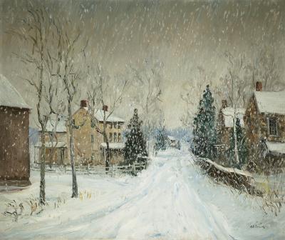 Walter Emerson Baum Snowstorm