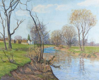 Walter Emerson Baum The Creek Sellersville Walter E Baum