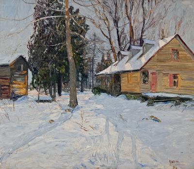 Walter Emerson Baum Winter Sunlight