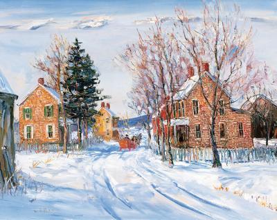 Walter Emerson Baum Winter Village