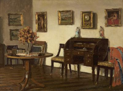 Walter Gay Studio Interior