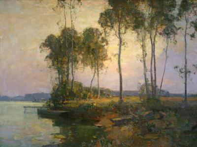 Walter Granville Smith Sentinel Trees Bellport Long Island