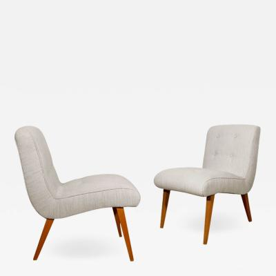 Walter Knoll PAIR OF VOSTRA LOW CHAIRS BY WALTER KNOLL