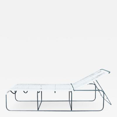 Walter Lamb Rare Pair Walter Lamb Bronze Adjustable Lounge Benches