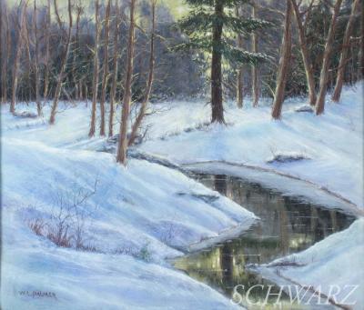 Walter Launt Palmer Winter Landscape