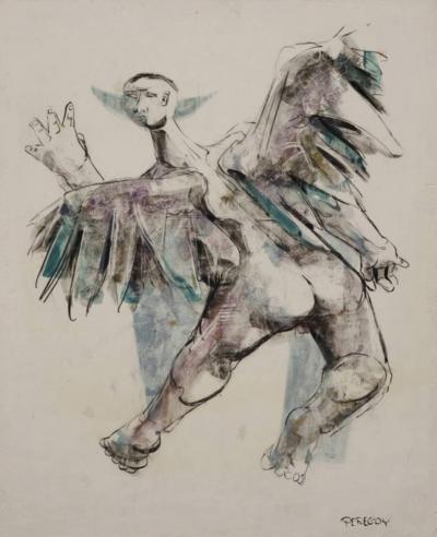 Walter Peregoy Icarus in the Imagination of Walter Peregoy