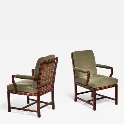 Walter Sobotka Walter Sobotka armchairs Austria circa 1930