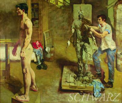 Walter Stuempfig Jr Sculptor and Model