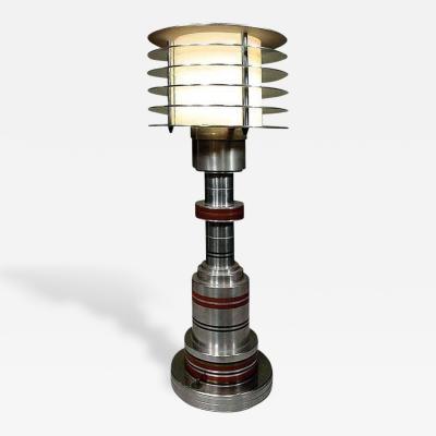 Walter Von Nessen Machine Age Table Lamp by Walter von Nessen