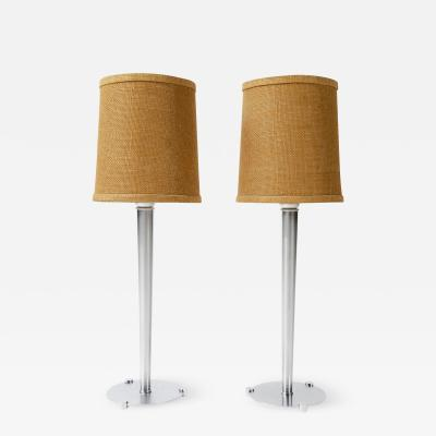 Walter Von Nessen PAIR OF TABLE LAMPS