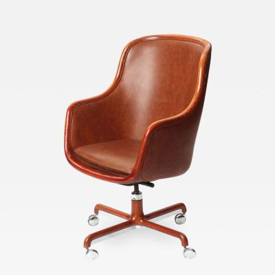 Ward Bennett Executive Highback Desk Chair by Ward Bennett