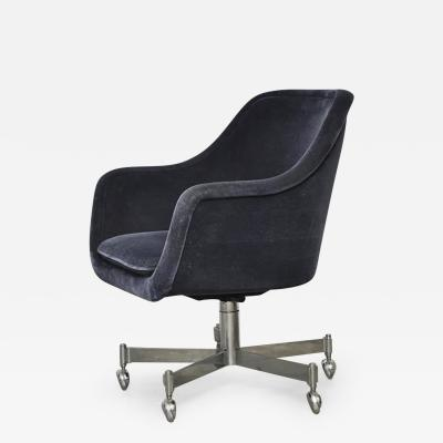 Ward Bennett Ward Bennett Desk Chair in Mohair