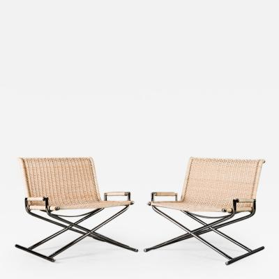 Ward Bennett Ward Bennett Sled Lounge Chairs