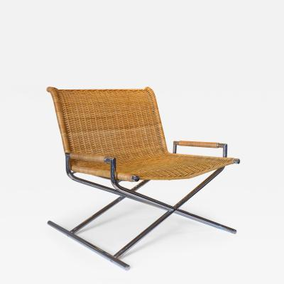 Ward Bennett Ward Bennett Woven Sled Chair