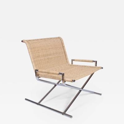 Ward Bennett Ward Bennett for Brickell Sled Lounge Chair Circa 1970