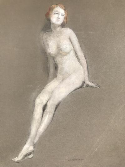 Warren B Davis Young Nude Beauty