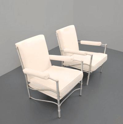 Warren McArthur 1014 Lounge Chairs Warren McArthur USA circa 1930