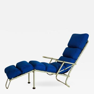 Warren McArthur Exceptional Warren McArthur Prototype Folding Chaise circa 1935