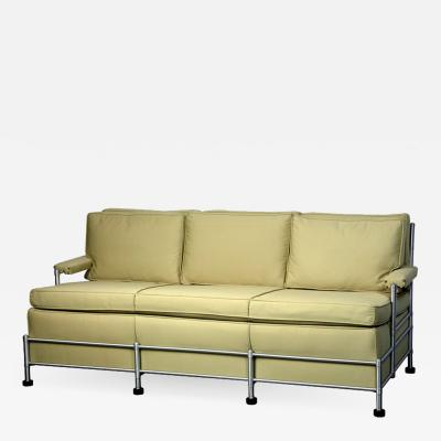 Warren McArthur Rare Slat Back Three Seat Warren McArthur Park Avenue Sofa 1933 1934