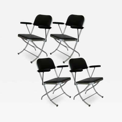 Warren McArthur Set of Ten Warren McArthur Folding Chairs