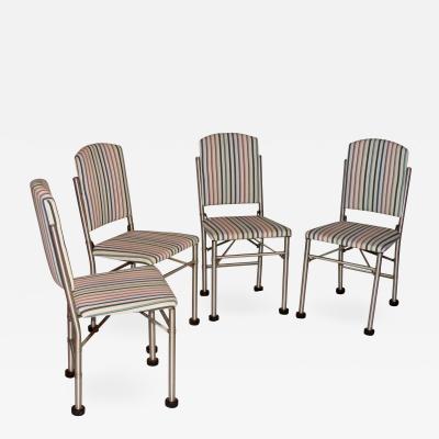 Warren McArthur Warren McArthur 4 Early Folding Chairs California 1932 33
