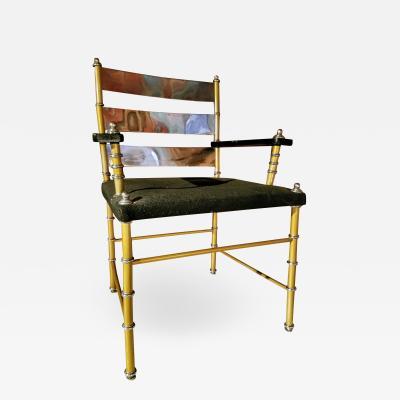 Warren McArthur Warren McArthur Armchair c 1931 Warren McArthur Furniture Co Los Angeles