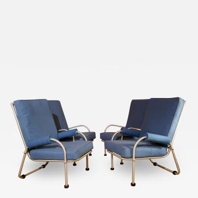 Warren McArthur Warren McArthur Four Lounge Chairs Circa 1939