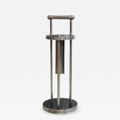 Warren McArthur Warren McArthur Stainless Steel Smoking Stand 1934 35