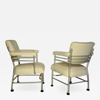 Warren McArthur Warren McArthur Two Club Chairs circa 1938