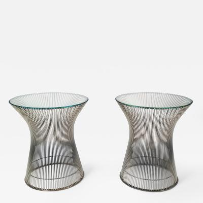 Warren Platner Early Side Tables Designed by Warren Platner for Knoll 1966
