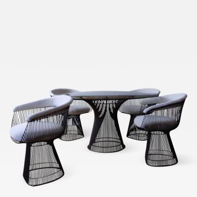 Warren Platner Early Warren Platner for Knoll Dining Table and Chairs