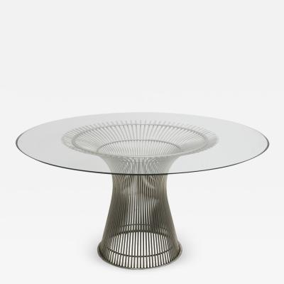 Warren Platner MID CENTURY MODERN TABLE DESIGNED BY WARREN PLATNER EDITED BY KNOLL USA 1970S