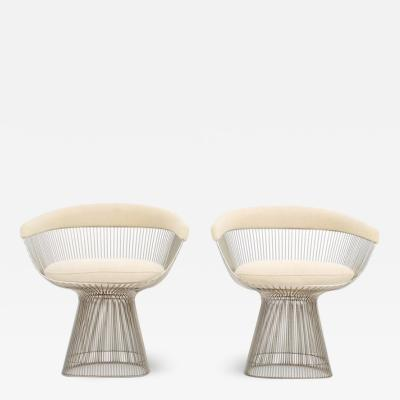 Warren Platner Pair Warren Platner Chairs for Knoll International