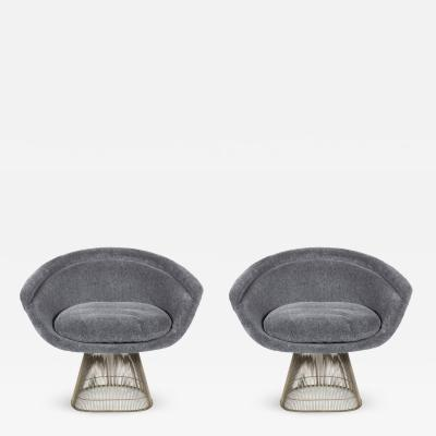 Warren Platner Pair Warren Platner Lounge Chairs