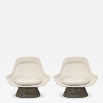 Warren Platner Pair of Warren Platner for Knoll Chairs