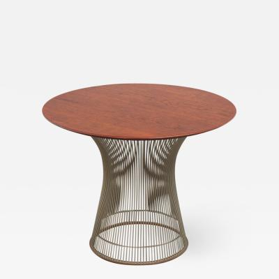 Warren Platner Platner Collection for Knoll Walnut Side Table
