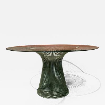 Warren Platner Round table by Warren Platner for Knoll 1970s