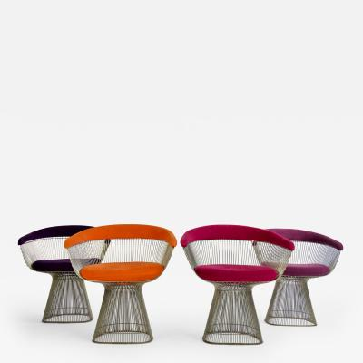 Warren Platner Set of Four Warren Platner Chairs