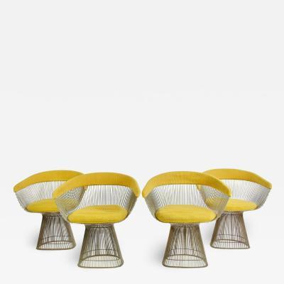 Warren Platner Set of Four Warren Platner Dining Chairs