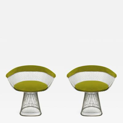 Warren Platner Set of Two Chairs Designed by Warren Platner and Edited by Knoll