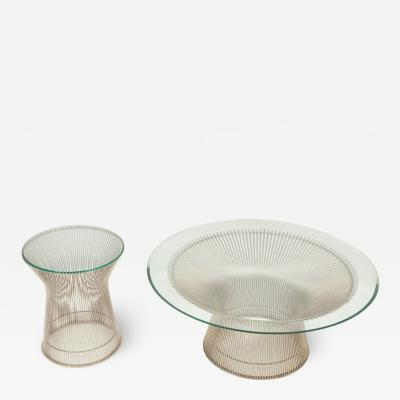 Warren Platner Two Warren Platner Tables